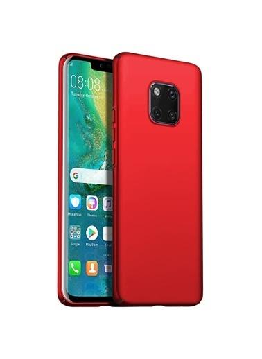 Microsonic Huawei Mate 20 Pro Kılıf Premium Slim  Kırmızı